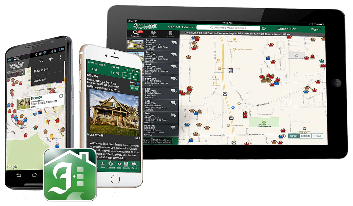 Find Homes for Sale Fast & Easy with the Home Search app.